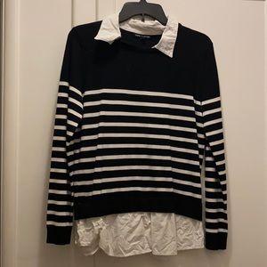 Women's business collared shirt/ sweater